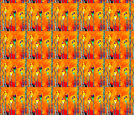 Sentinel Birds fabric by robin_rice on Spoonflower - custom fabric