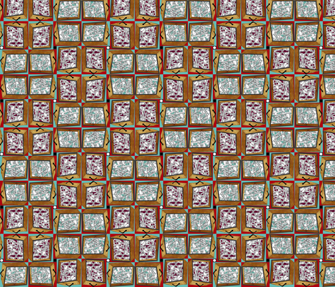 Who's been messin' with the silverware_drawers fabric by glimmericks on Spoonflower - custom fabric