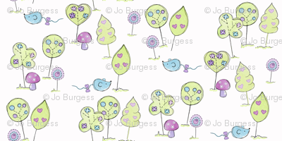 squiggles in the woods