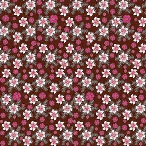 Pinwheels and pink flowers