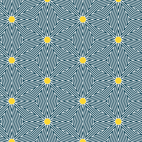 dizzy yellow dot fabric by susiprint on Spoonflower - custom fabric