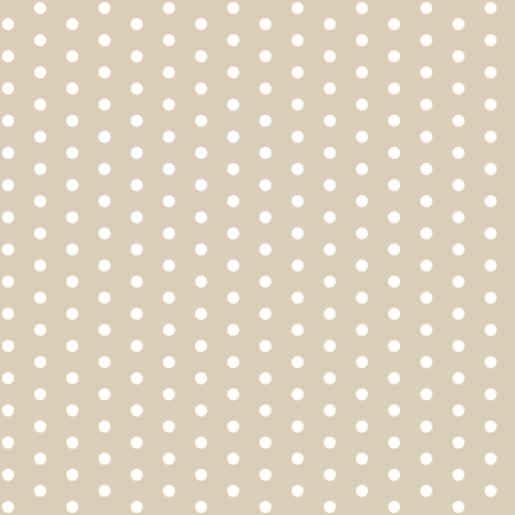 GreigeSwissDots fabric by mrshervi on Spoonflower - custom fabric