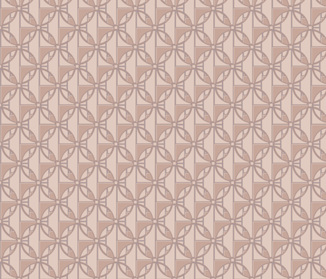 Sophisticated Beige Deco Circles Large © Gingezel™ 2013 fabric by gingezel on Spoonflower - custom fabric