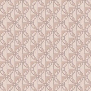 Sophisticated Beige Deco Circles Small © Gingezel™ 2013