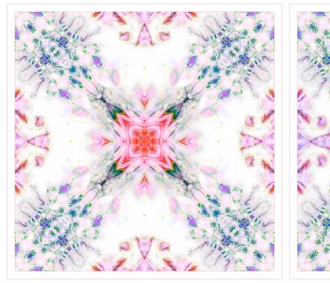 Tissue Tie-Dye Napkins -B fabric by koalalady on Spoonflower - custom fabric