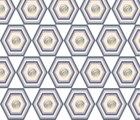Polygon_5 fabric by ilsephilips on Spoonflower - custom fabric