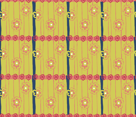 matisse inspired print2 fabric by sofiedesigns on Spoonflower - custom fabric