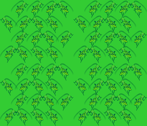 Going Buggy fabric by implexity on Spoonflower - custom fabric