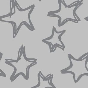 Large Gray Stars