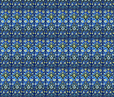 Jewelled fabric by amyvail on Spoonflower - custom fabric