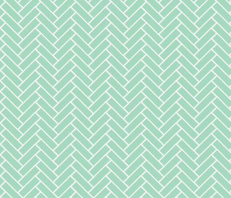 herringbone milk glass fabric by ninaribena on Spoonflower - custom fabric