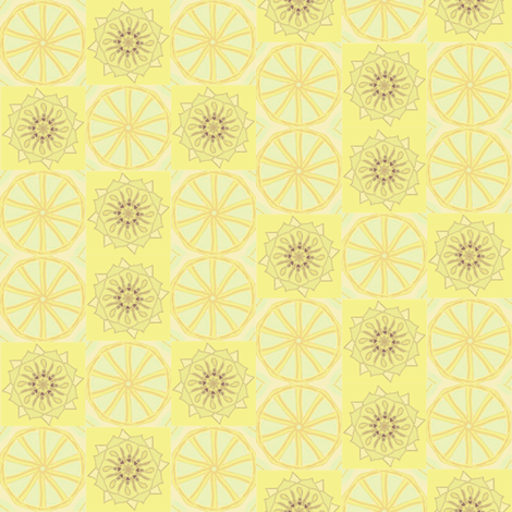 Lemonade fabric by ravynscache on Spoonflower - custom fabric