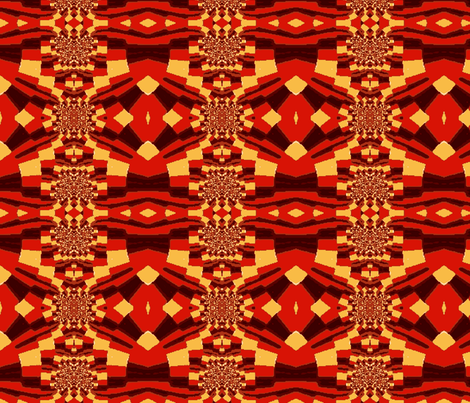 Sliding Down the Fractal Ribbons-for 8-Bit Fit fabric by clotilda_warhammer on Spoonflower - custom fabric
