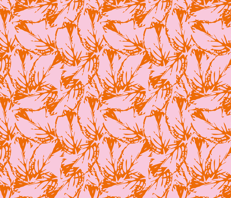 leaf_pattern2-01 fabric by sofiedesigns on Spoonflower - custom fabric