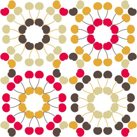 cherry tiles