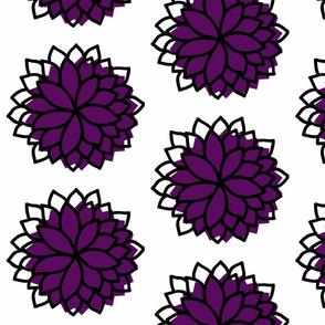 Petal Burst in Violet