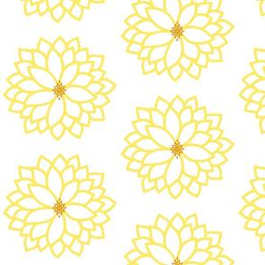 Bursting Blossom in Yellow