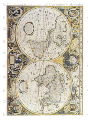 Antique World Map II