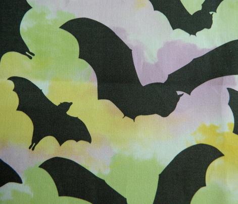 Psychodelic Summer Bats