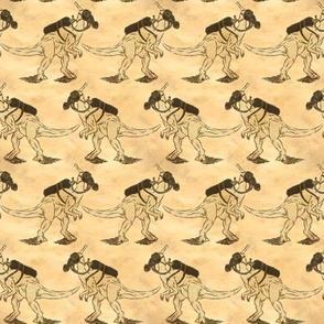 DinoMask - Old Paper