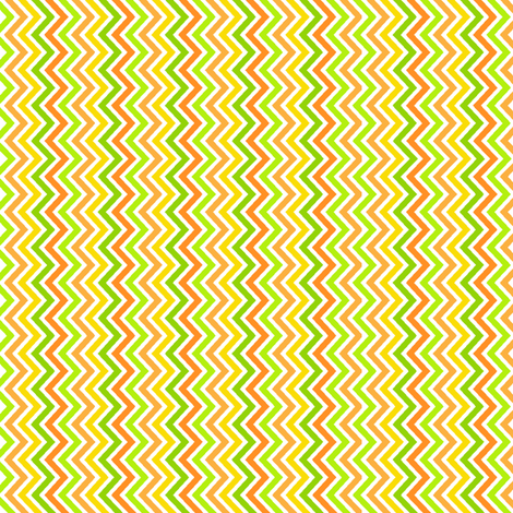 Citrus Zig Zag fabric by holladaydesigns on Spoonflower - custom fabric