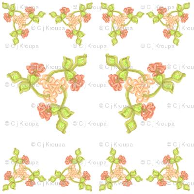 Triskellion Fleurs