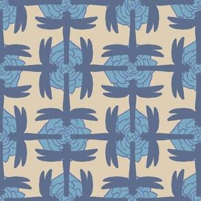 Dragonfly Sayagata Pale Blue