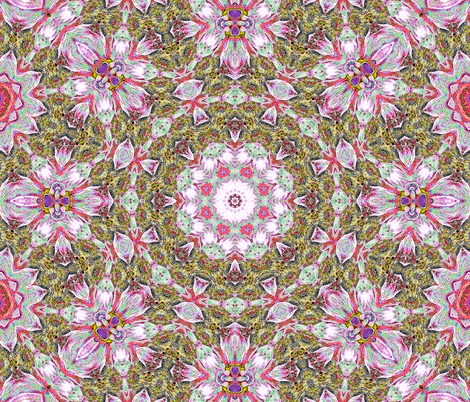 Pink Bouquet fabric by koalalady on Spoonflower - custom fabric