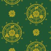 Hyrule Medallions Link Green
