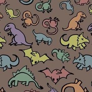Rainbow Dinosaur Fossils