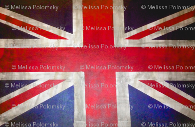 UK flag print for pillow covers