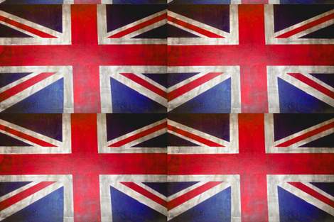 UK flag print for pillow covers fabric by theartwerks on Spoonflower - custom fabric