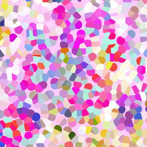 Colorful Spring Confetti Dotty Print