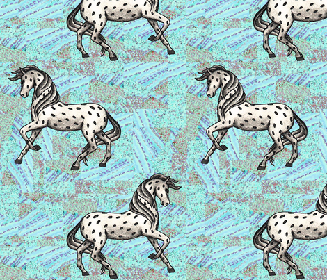 Fantasy horse fabric by fantazya on Spoonflower - custom fabric