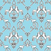 Rrrrrrdamask_horse_whole_pattern_rev2_saddle_blue_shop_thumb