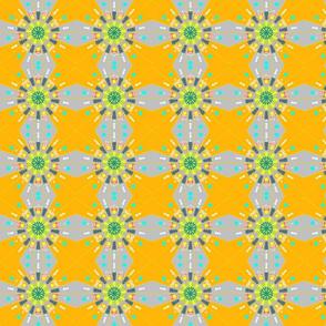 floral plaid