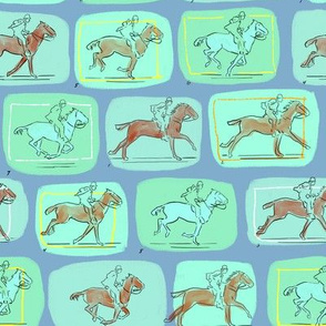 Muybridge Horses 5