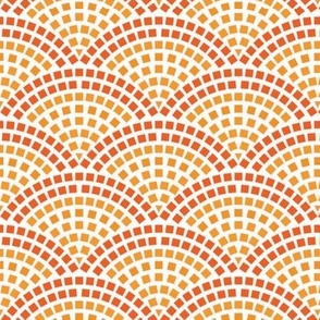 Granite Sett-Orange