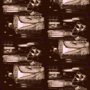 Khaki Dragon Fly Invaders