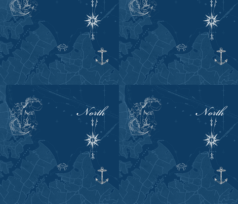 true_norths_cop2y fabric by pigtowndesign on Spoonflower - custom fabric