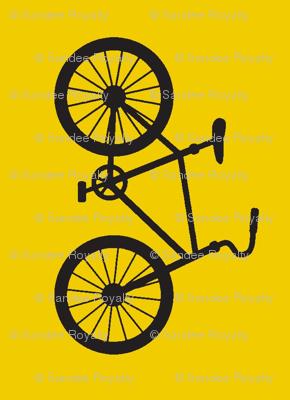 Joy Ride!  bike in yellow and black