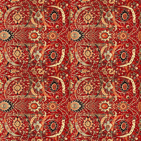 Kerman Scarf fabric by amyvail on Spoonflower - custom fabric