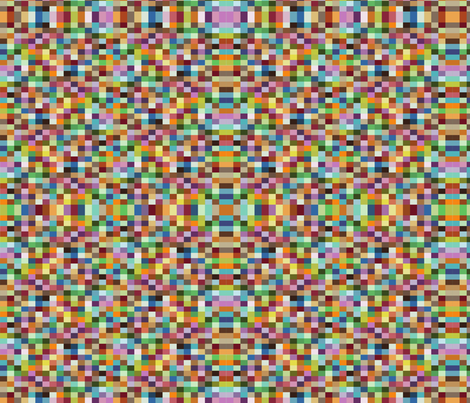 pixel fabric by honeychildink on Spoonflower - custom fabric