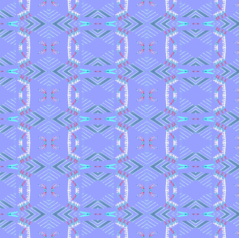Tribal Pastel fabric by robin_rice on Spoonflower - custom fabric