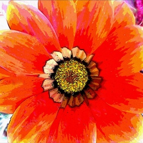 Bright_Red_Flower_2_Pillow