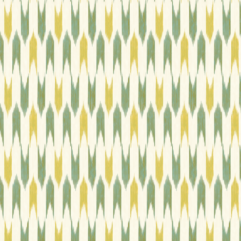 Rockets - lemon and lime -  fabric by frumafar on Spoonflower - custom fabric
