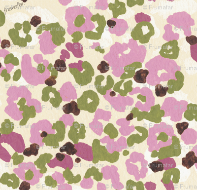 girl's camouflage - berry -