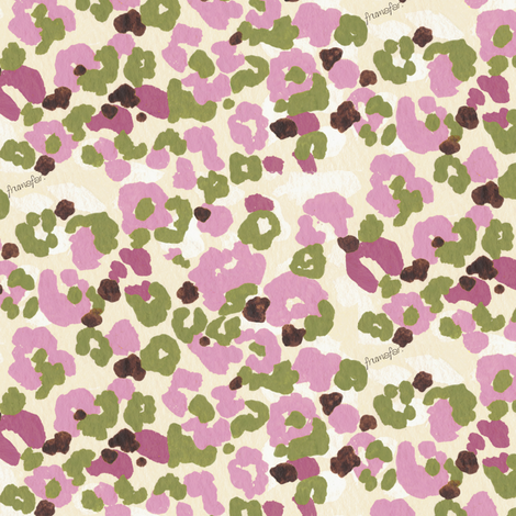 girl's camouflage - berry - fabric by frumafar on Spoonflower - custom fabric
