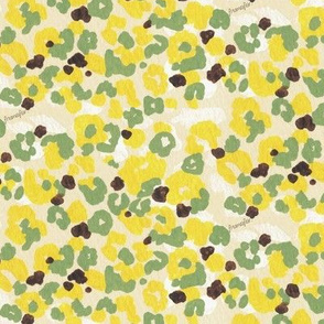 girl's camouflage - lemon -