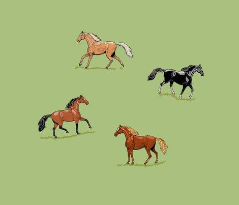 Fq_s_horses_ink_mint___grass_e_shop_preview